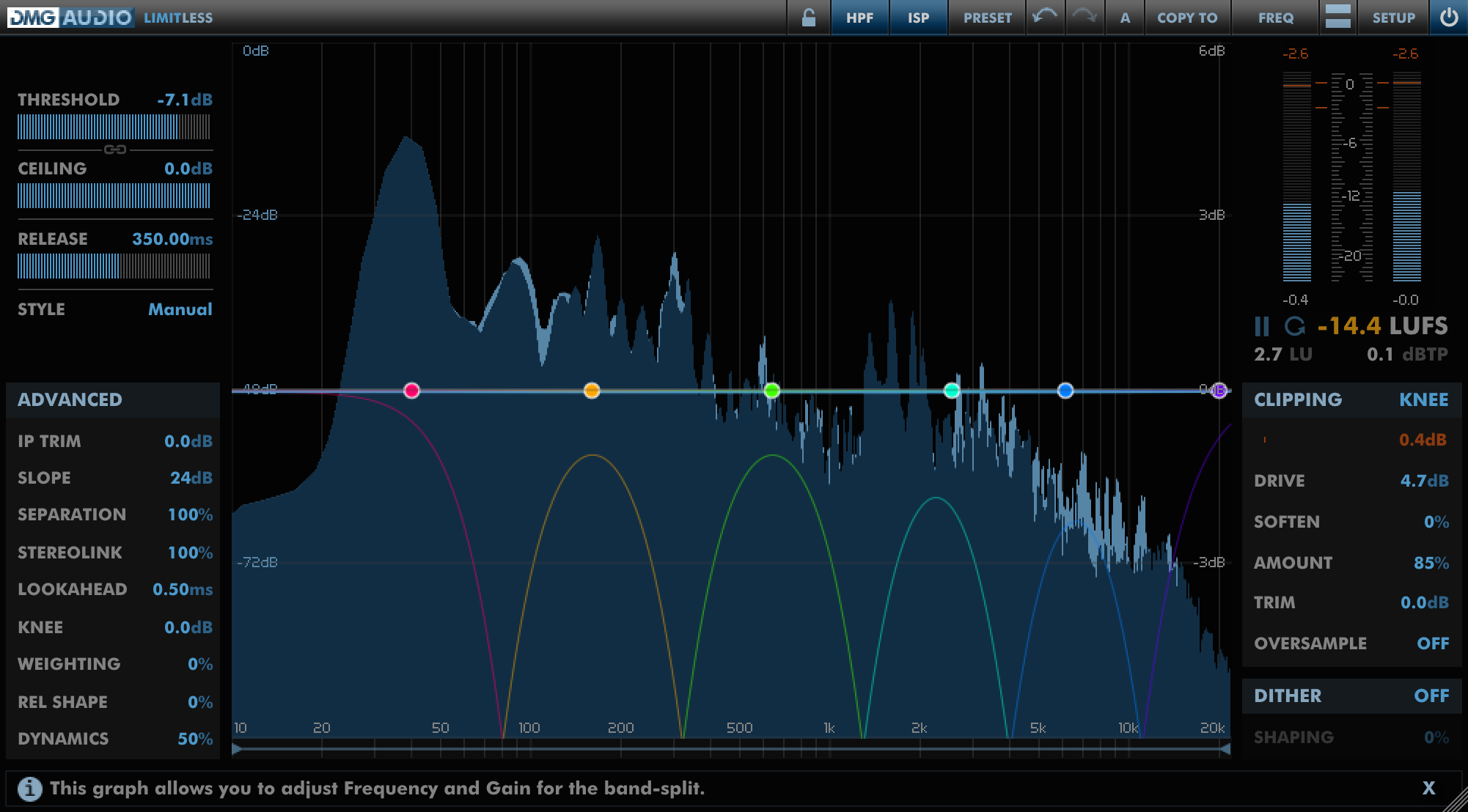DMGAudio Limitless